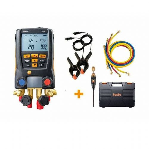 Testo 557 Digital Refrigeration Manifold Set 0563 2558